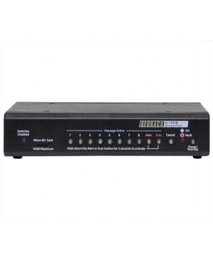 Redback 8 Way MP3 Message Player With Alert/Evac A1741B