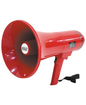 Redback Megaphone PA Public Address 25W (35W Max) Red A1980B