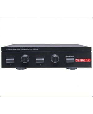Dynalink 2 Channel Speaker Switch, Volume Control A2384