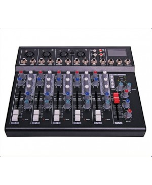 6 Channel Mixing Desk, USB Playback A2651