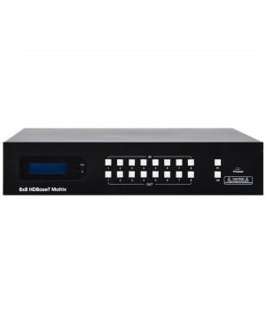 Shinybow 8x8 HDMI HD BaseT Balun 4K Matrix Switcher A3555A