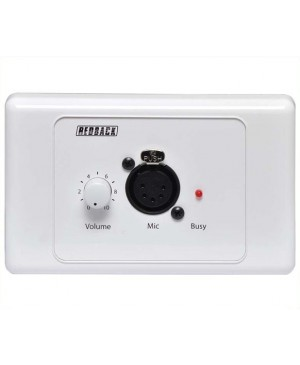 Redback Microphone Wallplate, Suit A5135 A5138