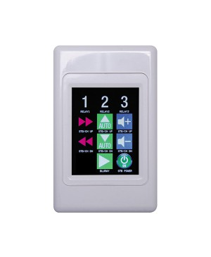Redback Programmable Universal Touchscreen Wallplate A6500A Made in Australia
