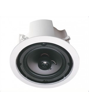 Opus One 20cm 40W 2 Way Round Backbox Ceiling Speaker Pair