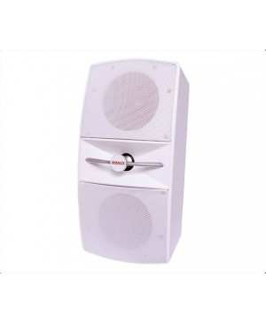 Redback 40W 2 Way 8 Ohm White Wall Speaker
