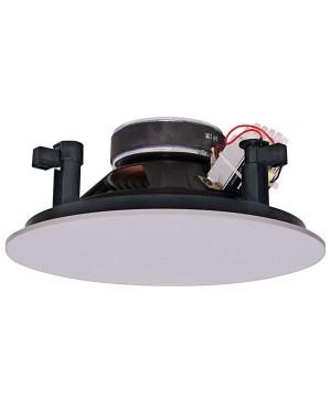 Redback 20cm 15W 100V Coaxial 2 Way EWIS Fastfix Ceiling Speaker C2190