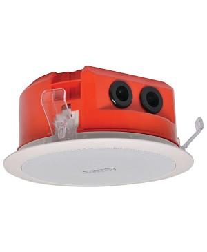 One-Shot 100mm 100V 5W Ceiling EWIS Speaker White Metal Grille C2260A