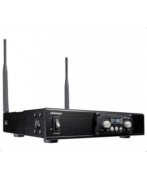 Okayo Dual Channel UHF Wireless Audio Link Receiver C7281A