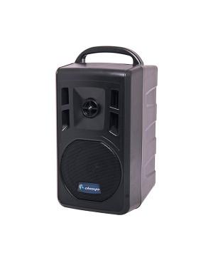 Okayo 60W USB MP3 Dual UHF Wireless Portable Public Address PA System C7344C