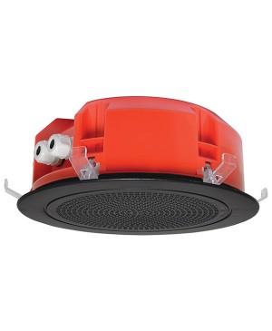 One-Shot 200mm 100V 5W Ceiling EWIS Speaker Black Grille CF2135