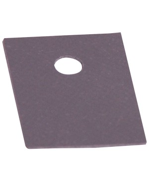 Altronics Adhesive Silicon Rubber TO220 Insulation Pad Pack of 1000 H7313