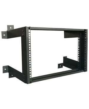 "Zip Rack 8U 19"" Open Rack Frame Wall Mount HD5908"