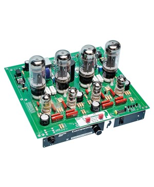 Silicon Chip Currawong 2x10W RMS Stereo Valve Amplifier Kit K5528