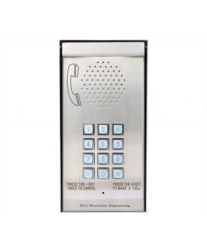 ECA Multi Apartment GSM Wireless Solar Backlit Intercom 6WIR MCI3000V4S S9486