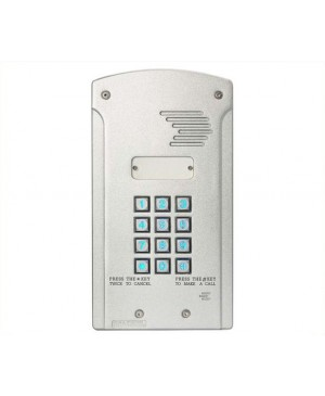 ECA Solar Wireless GSM 1CH Keypad Intercom Made in Australia S9501