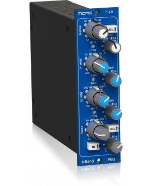 Midas 500 Series 4 Band Fully Parametric Equaliser Based on HERITAGE 3000 512V2
