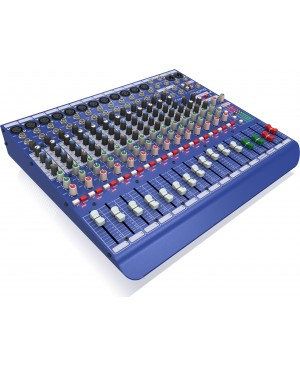Midas 16 Input Analog Live & Studio Mixer, Midas Microphone Preamplifiers DM16