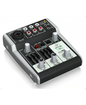 Behringer 302USB 5-Input Mixer, XENYX Mic Preamp