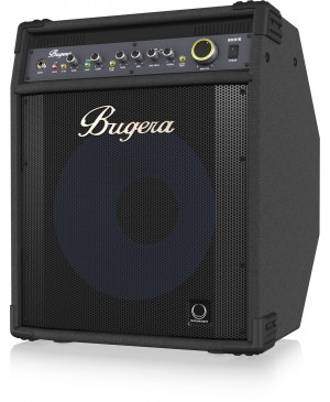 "Bugera BXD15A 1000W Bass Amplifier, 15"" Aluminum Speaker"