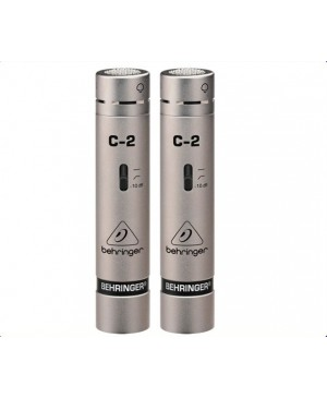 Behringer C-2 Two Matched Studio Condenser Microphones