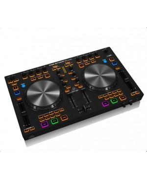 Behringer CMD-STUDIO-4A 4-Deck DJ MIDI Controller,4-Ch