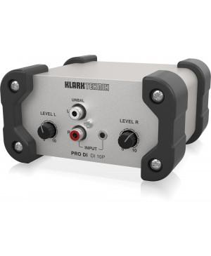 KLARK TEKNIK DI 10P Passive DI Stereo In-Mono Out