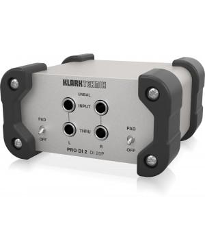 KLARK TEKNIK DI 20P Passive Stereo DI Box