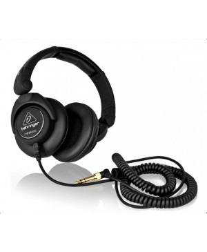 Behringer HPX6000 DJ Headphones,Enhanced Bass,50mm drivers