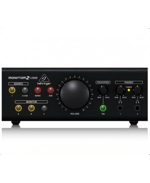 Behringer MONITOR2USB Speaker,Headphone Monitor Controller