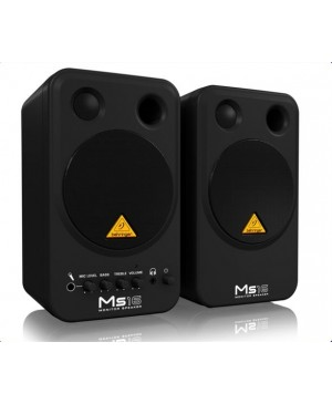 Behringer MS16 Stereo Monitor Speakers,10cm,Active,Pair