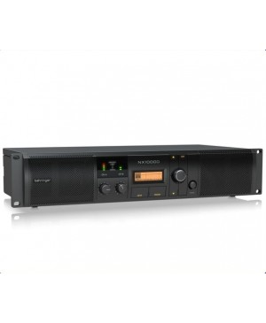 Behringer NX1000D 1000Watt Class-D Power Amplifier,DSP