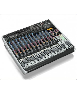 Behringer QX2222USB 22-Input 2/2-Bus Mixer, Mic Preamps,FX