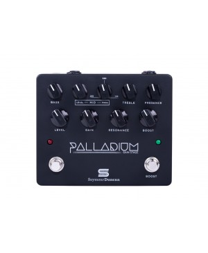 Seymour Duncan Guitar Pedal Palladium Gain Stage Black