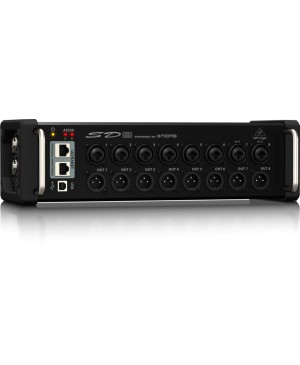 Behringer SD8 I/O Stage Box,8 Remote-Control Preamp