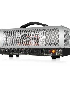 Bugera T50 INFINIUM 50W Cage-Style 2-Ch Tube Amplifier Head