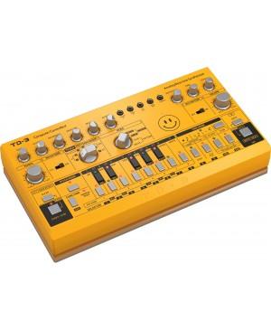 Behringer TD-3-AM Analog Bass Line Synthesizer, VCO, VCF, 16-Step, Amber