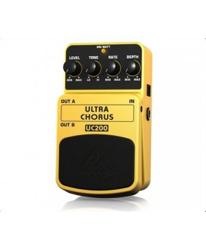 Behringer UC200 Ultimate Stereo Chorus Guitar Effects Pedal