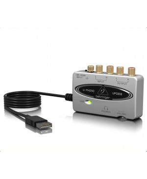 Behringer UFO202 USB/Audio Interface, Phono Preamp