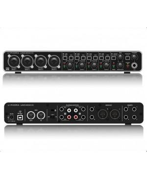 Behringer UMC404HD HD,4x4,24-Bit/192 kHz USB Audio/MIDI