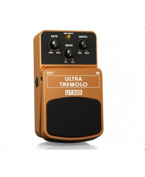 Behringer UT300 Classic Tremolo Guitar Effects Pedal