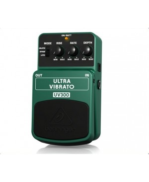 Behringer UV300 Classic Vibrato Guitar Effects Pedal