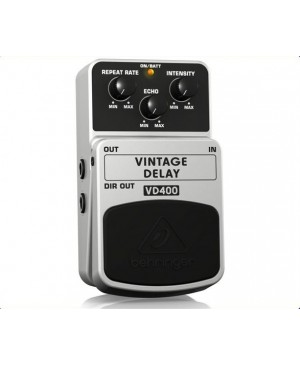 Behringer VD400 Vintage Analog Delay Guitar Effects Pedal