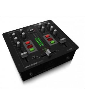 Behringer VMX100USB 2-Ch DJ Mixer,USB/Audio Interface,BPM
