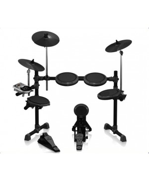 Behringer XD8USB 8-Piece Electronic Drum Set,123 Sounds
