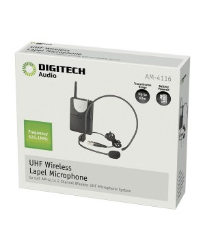 Digitech Channel A UHF Headband Microphone for AM4132 or AM4114 AM4116