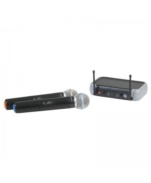 Dual Channel Wireless UHF Microphone