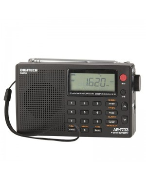 Digitech World Band, AM/FM radio, SW, LW, AIR bands AR1733