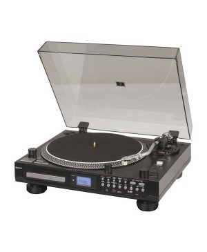 Digitech Turntable with CD Player & USB/SD GE4107