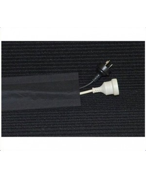Secure Cord Cable Cover Black, 25m