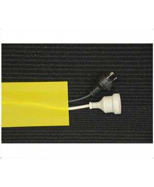 Secure Cord Cable Cover Yellow, 25m